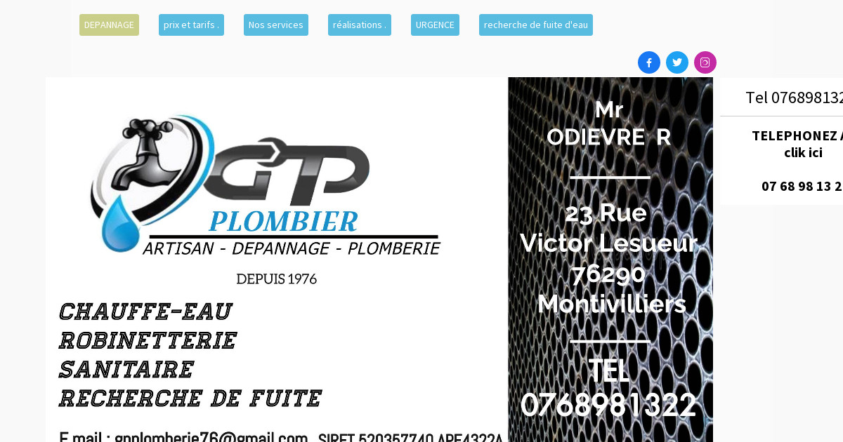 generale plomberie 07 68 98 13 22 plombier le havre. Black Bedroom Furniture Sets. Home Design Ideas